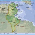 map of tunisia tunisia africa