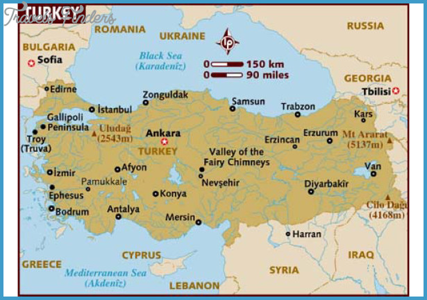 turkey map attractionsjpg