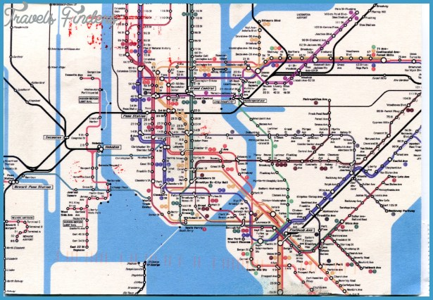 New York Metro Map Travel Map Vacations TravelsFindersCom - New york on the map of usa