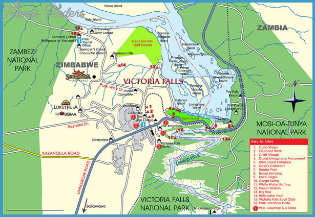 Tourist Attractions, See & Do at Victoria Falls for Zambia and