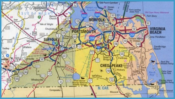 Virginia Beach Map Tourist Attractions – Virginia Tourist Attractions Map