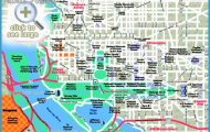 hill downtown neighborhood Washington DC top tourist attractions map