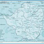 Large detailed political and administrative map of Zimbabwe | Vidiani