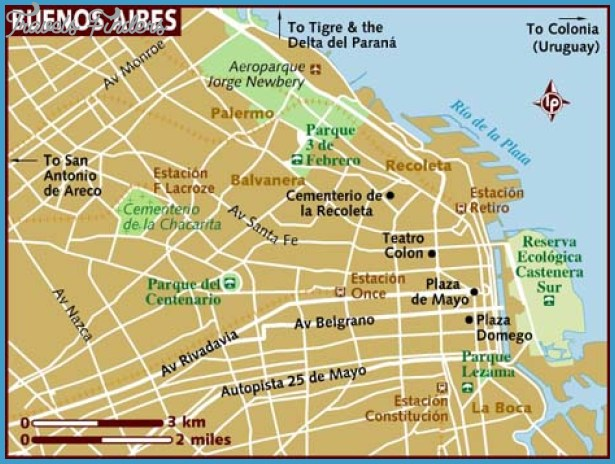 Argentina Metro Map Travel Map Vacations TravelsFindersCom - Argentina subway map