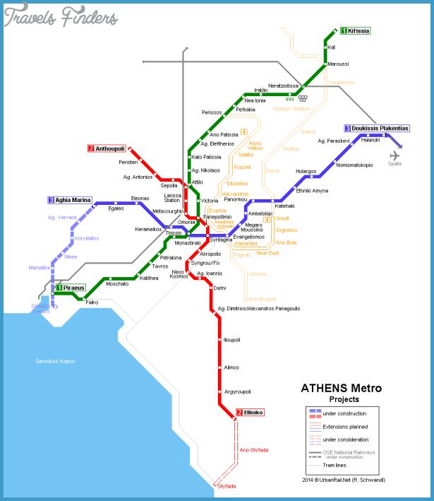 athens metro map english pdf