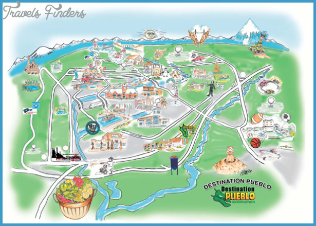 Colorado Springs Map Tourist Attractions – Colorado Tourist Map