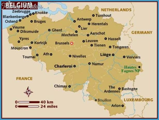 Belgium Map – Belgiummap