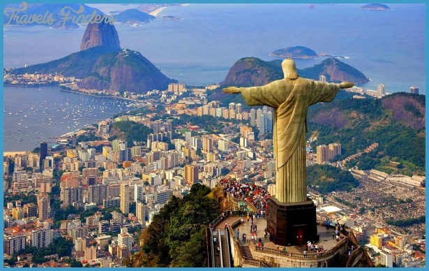 World Tour**ism: Best tourist places in the country of Brazil samba