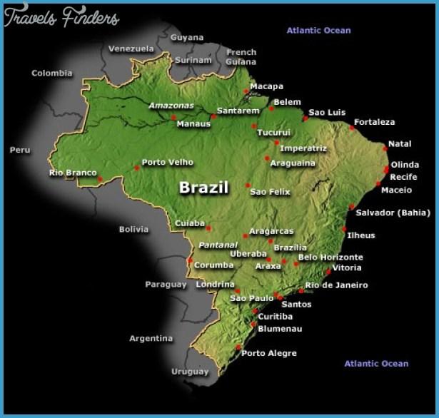 Brasilia Subway Map TravelsFindersCom
