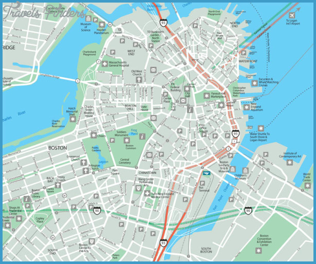 Boston Map Tourist Attractions – Boston Tourist Attractions Map