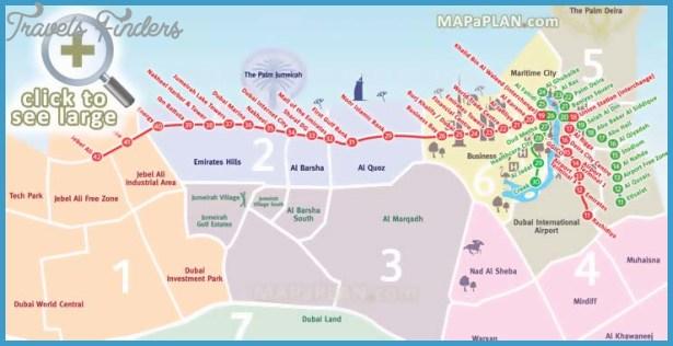 Dubai metro map travelsfinders dubai metro map gumiabroncs Images
