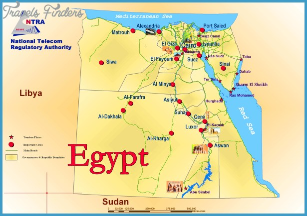 Egypt Map Tourist Attractions – Egypt Tourist Attractions Map
