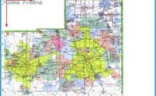 fort worth map with zip codes Archives - TravelsFinders.Com ® on