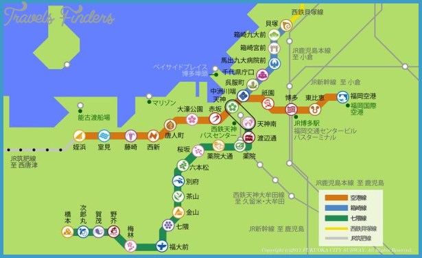 Fukuoka Metro Map – Boston Tourist Map Pdf