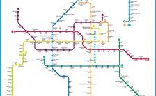 Guangzhou Subway Map Travelsfinders Com