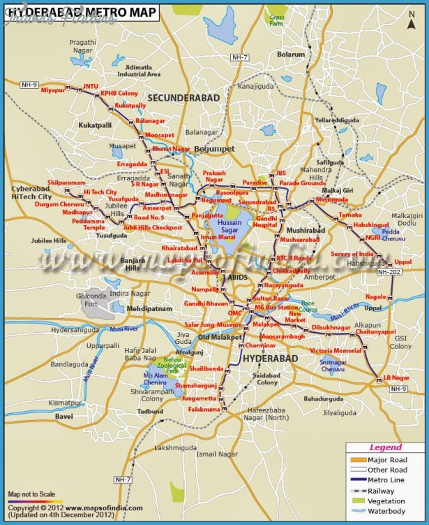 Golconda Map