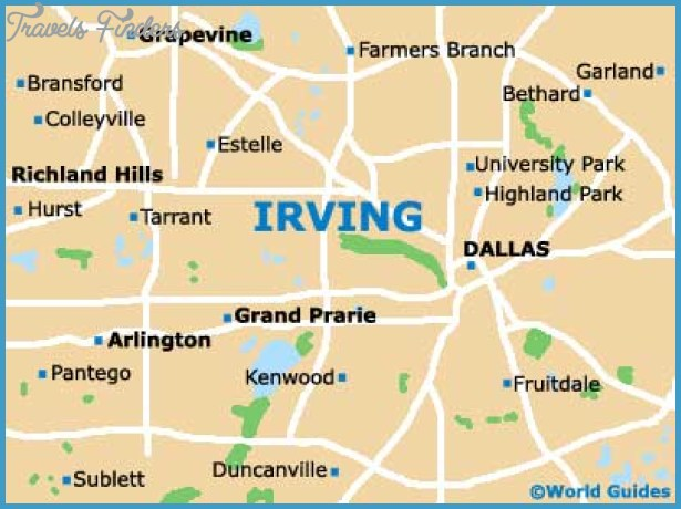 Irving Map Travelsfinders Com