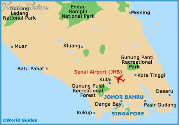 Malaysia Map Tourist Attractions – Malaysia Tourist Attractions Map