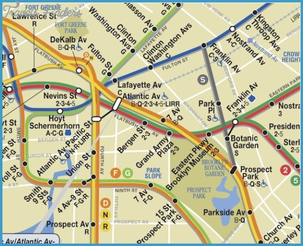 new york subway map with streets pdf