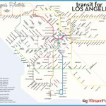Los Angeles Subway Map 2016.Los Angeles Subway Map Travelsfinders Com
