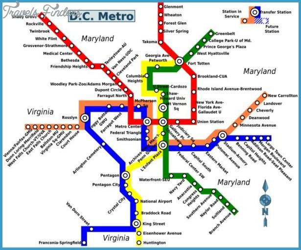 Subway Map In Washington Dc.Tanzania Subway Map Travelsfinders Com