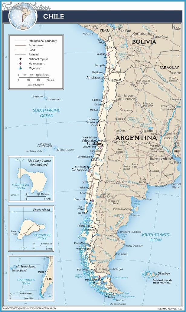 Chile Map Tourist Attractions – Tourist Attractions Map In Chile