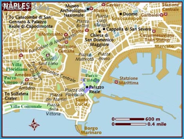 map of naples Naples Map