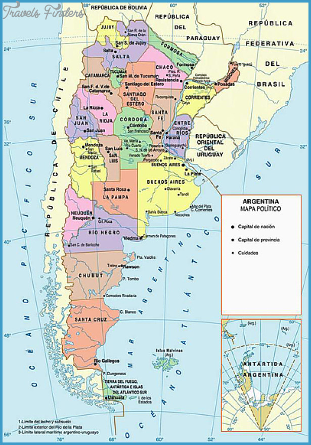 Buenos Aires Map Tourist Attractions Travel Map Vacations - Argentina map tourist