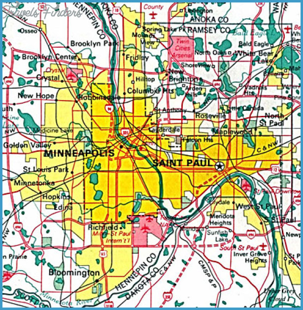 Minneapolis Map Tourist Attractions – Tourist Attractions Map In Minneapolis