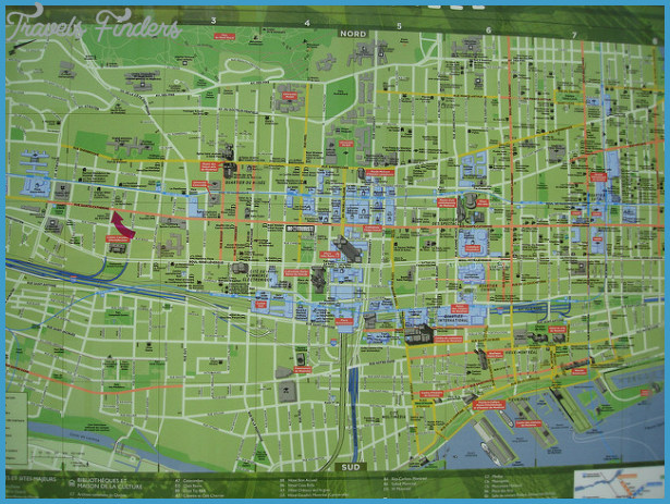 Montreal Map Tourist Attractions 11jpg TravelsFindersCom