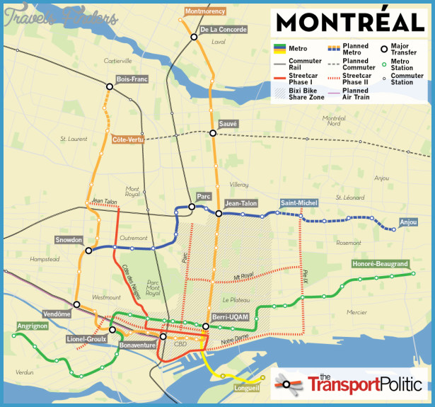 Montreal Map Tourist Attractions – Montreal Tourist Attractions Map