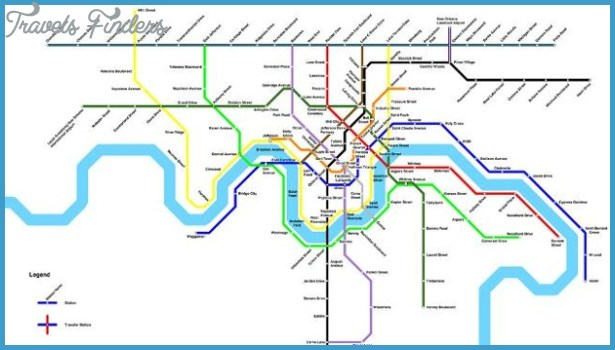 new orleans metro map travelsfinders com