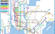 new york subway map with streets Archives - TravelsFinders.Com ®