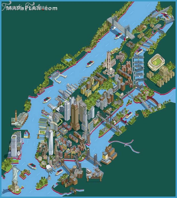 New york map tourist attractions travelsfinders com for Attractions in new york new york
