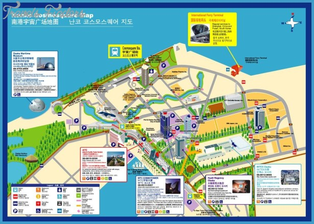 OsakaTouristMap3jpg TravelsFindersCom