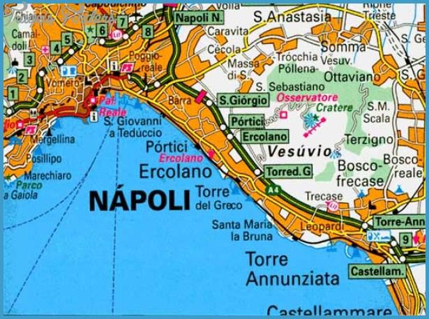 Naples Subway Map TravelsFindersCom