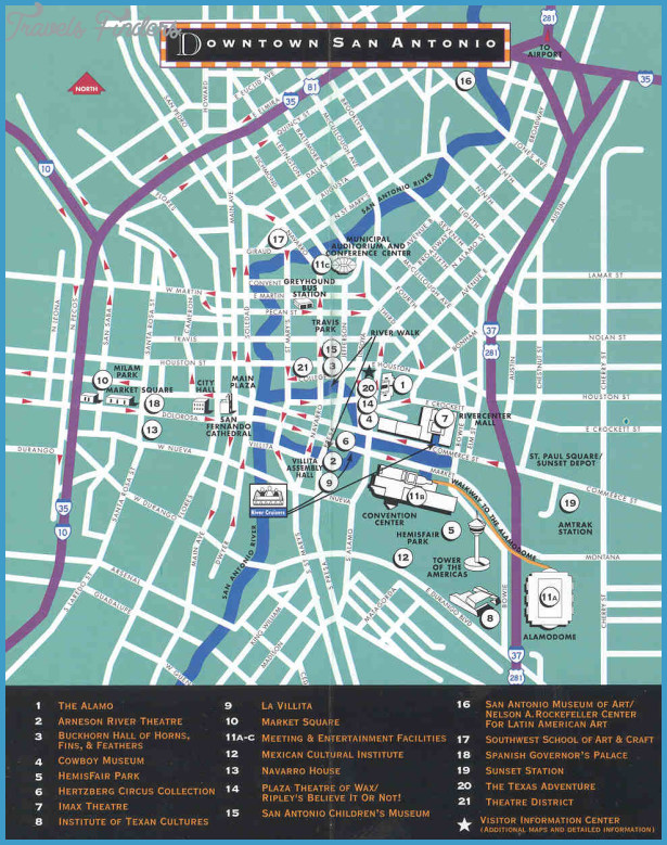 Austin Map Tourist Attractions – San Antonio Tourist Attractions Map