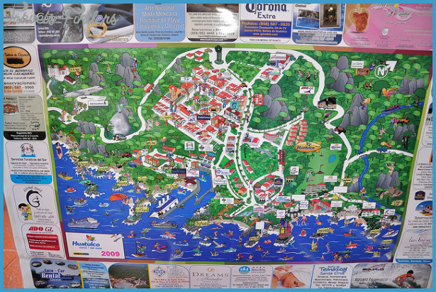 Santa Ana Map Tourist Attractions Travelsfinders Com