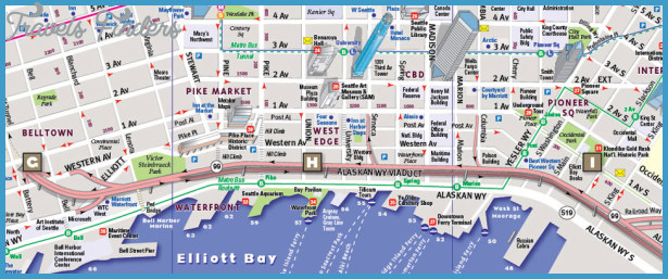 Seattle Map Tourist Attractions – Tourist Attractions Map In Seattle