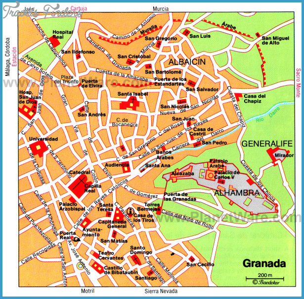 Spain Map Tourist Attractions – Spain Tourist Attractions Map