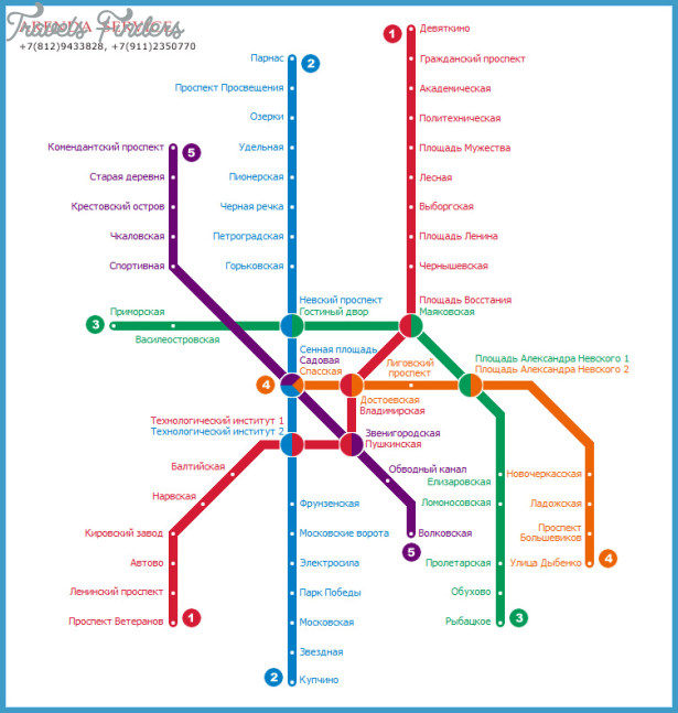 Saint Petersburg Russia Subway Map.St Petersburg Metro Map Travelsfinders Com