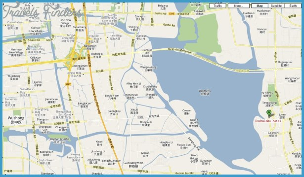 Suzhou Metro Map TravelsFindersCom - Suzhou map