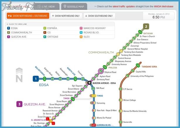 Manila Subway Map - TravelsFinders Com ®