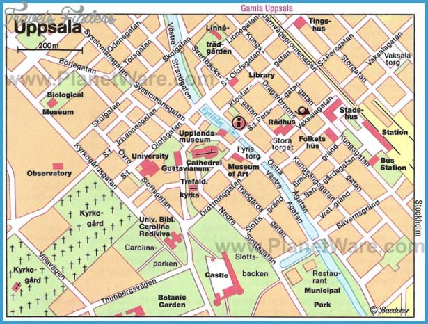 sweden attractions map