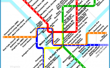 Washington Metro Map Pdf Archives Travelsfinders Com