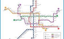 Xian Subway Map.Xi An Metro Map Archives Travelsfinders Com
