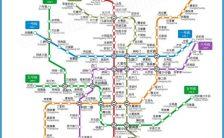 Xian Subway Map.Xi An Metro Map 2016 Archives Travelsfinders Com