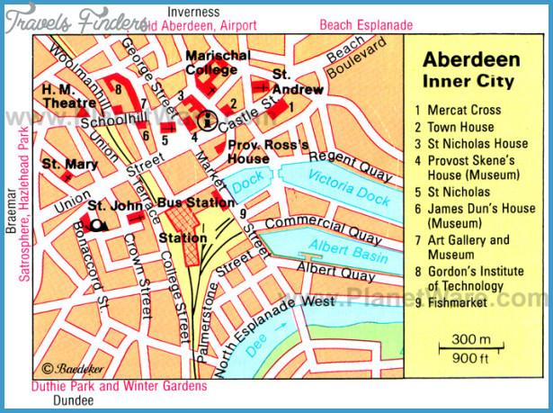 aberdeen city centre map pdf