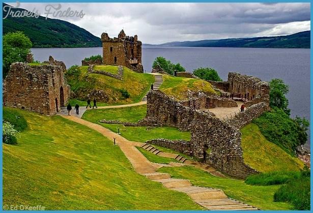 castle loch ness scotland Scotland Guide for Tourist