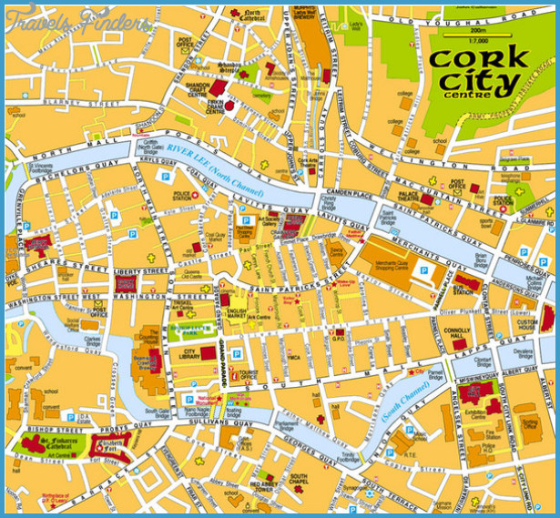 Ireland Map Tourist Attractions – Ireland Tourist Attractions Map